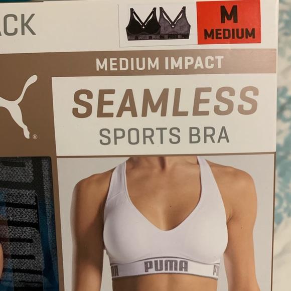 005aa7ce New in box - 2 Puma Sports Bras - Medium Impact NWT